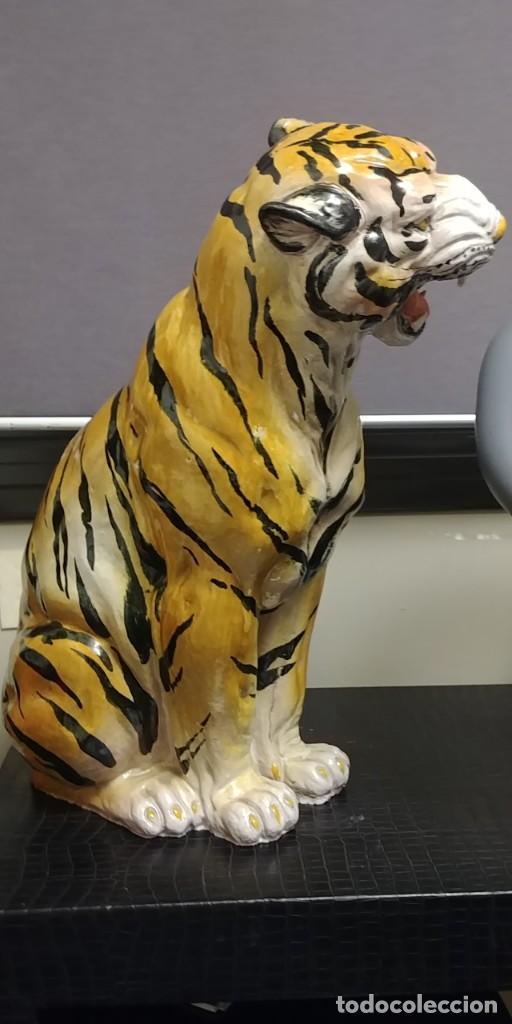 Vintage: TIGRE cerámica esmaltada italiana, vintage. - Foto 6 - 140545110