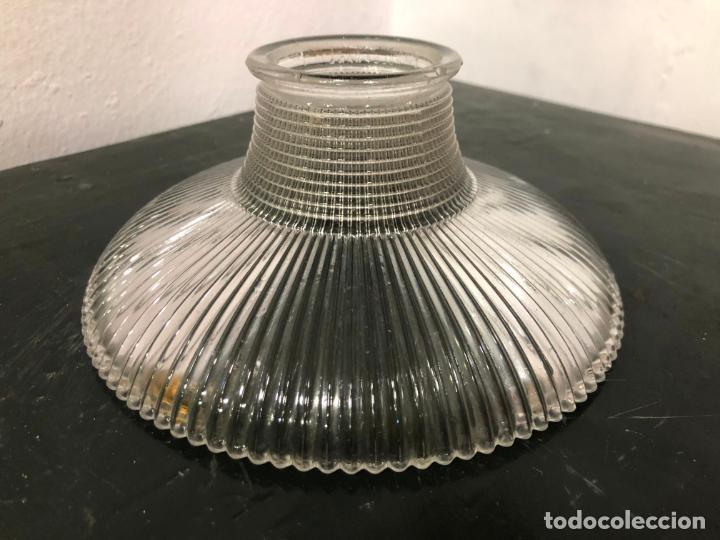 PRECIOSA TULIPA DE CRISTAL ART DECO - MEDIDA EN LAS FOTOS (Vintage - Decoración - Cristal y Vidrio)