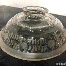 Vintage: PRECIOSA TULIPA DE CRISTAL ART DECO - MEDIDA EN LAS FOTOS. Lote 200357976