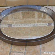 Vintage: ESPEJO VINTAGE DE LA DECADA DE LOS.70..PLASTICO Y CRISTAL..CURIOSO.. Lote 141079926