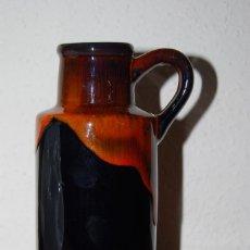 Vintage: JARRÓN DE CERÁMICA ALEMANA - FLORERO - AÑOS 60 - ALEMANIA. Lote 141289786