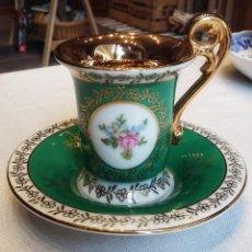 Vintage: TAZA Y PLATILLO DE BREMER&SHMIDT .. Lote 141320386