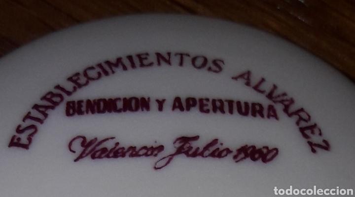 Vintage: CERAMICA.MOISES ALVAREZ.1960.Edicion escudos..ESCUDO DE VALENCIA.SELLO SANTA CLARA.VIGO - Foto 7 - 141322386