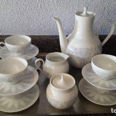 Vintage: JUEGO DE CAFÉ BIDASOA, AÑOS 60. Lote 141570262