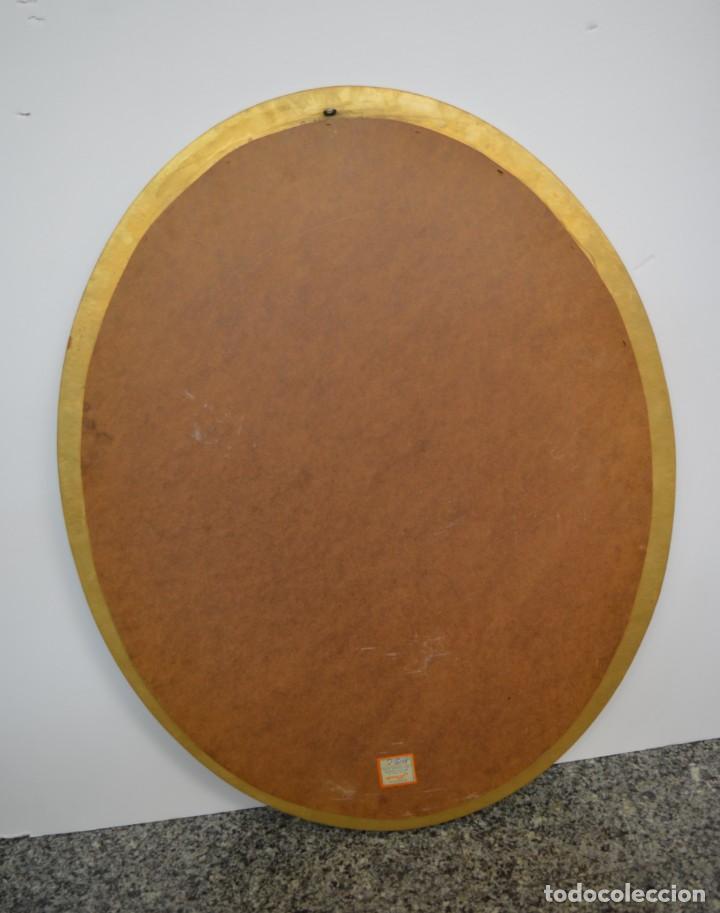 Vintage: Espejo ovalado estilo veneciano - Foto 3 - 142502734