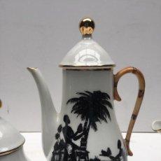 Vintage: JUEGO DE CAFE LIMOGE . 1950. Lote 142622294