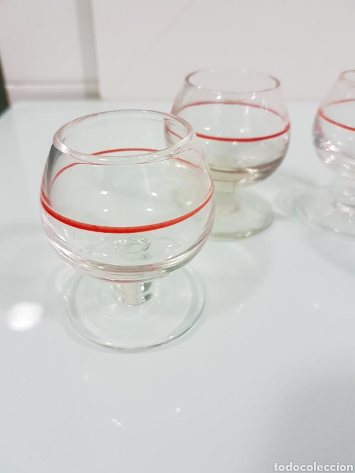 Vintage: Cuatro vasos chupitos cristal vintage - Foto 2 - 142831882