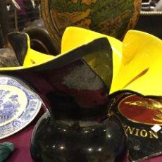 Vintage: JARRÓN FLOR VALLAURIS. Lote 142885189