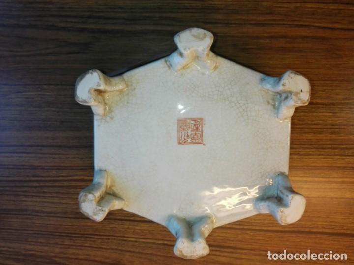 Vintage: CENTRO DE MESA CERÁMICA CHINA - Foto 4 - 143067610