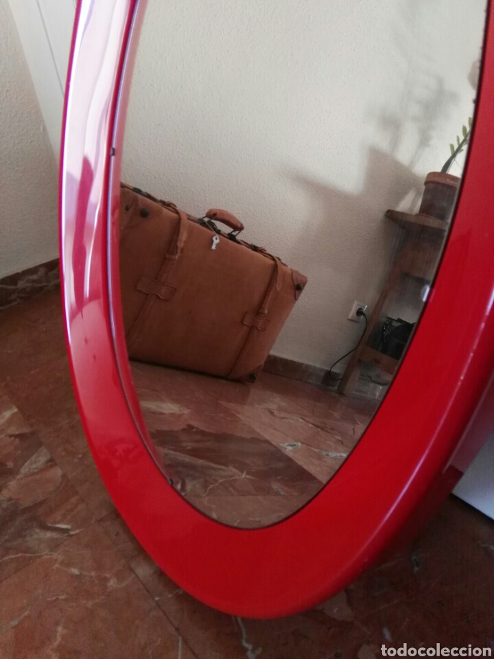 espejo de baño años 70 - Comprar Cristal y vidrio vintage ...