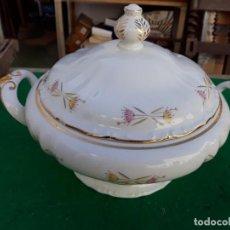 Vintage: SOPERA DE PORCELANA. Lote 191783245