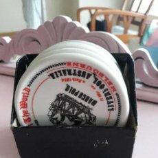 Vintage - 5 posavasos porcelana Herrandiz - 144372762