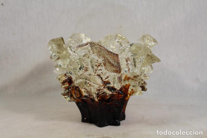 Vintage: jarron - centro de mesa - frutero de cristal - Foto 2 - 144926350