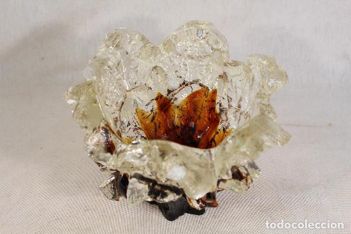 Vintage: jarron - centro de mesa - frutero de cristal - Foto 6 - 144926350