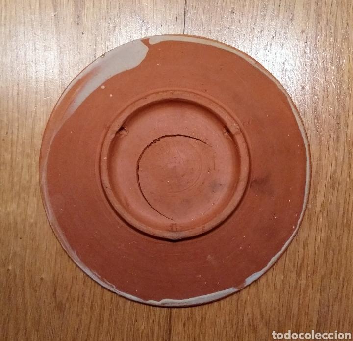 Vintage: Plato cerámica decorado, 188 mm. - Foto 2 - 145002608