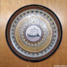 Vintage: PLATO CERÁMICA DECORADO. GRECIA. Lote 145006808
