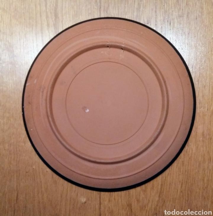 Vintage: Plato cerámica decorado. Grecia - Foto 2 - 145006808