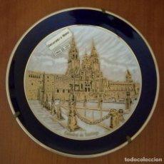 Vintage: PLATO DECORADO EN ORO DE LEY. Lote 145064530