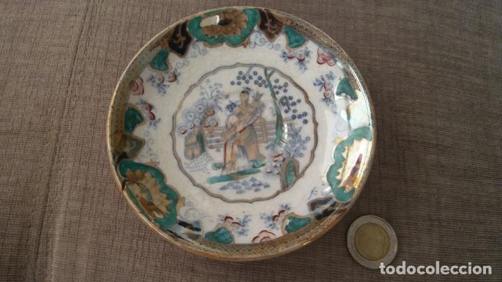 PLATITO CHINO (Vintage - Decoración - Porcelanas y Cerámicas)