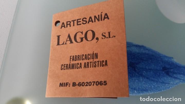 Vintage: Set de chupitos y bandeja pintado a mano - Foto 3 - 146136090