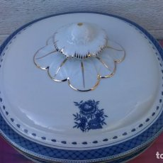 Vintage: TERRINA EN PORCELANA DE VISTA ALEGRE (PORTUGAL). Lote 146315514