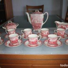 Vintage: PRECIOSO JUEGO DE CAFÉ Y TÉ VINTAGE DE JOHNSON BROTHERS INGLATERRA. Lote 146379338