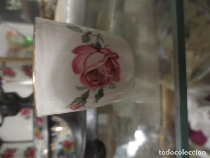 HUEVERA PORCELANA INGLESA (Vintage - Decoración - Porcelanas y Cerámicas)