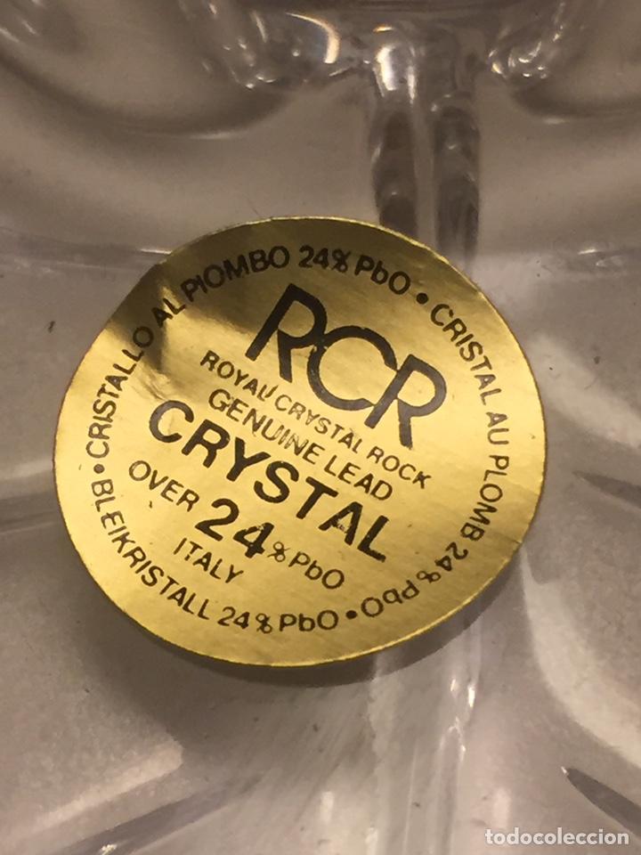 Vintage: Cenicero de Cristal Royal Cristal Rock 11x7cm (nuevo) - Foto 2 - 146667893