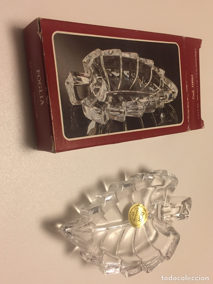 Vintage: Cenicero de Cristal Royal Cristal Rock 11x7cm (nuevo) - Foto 3 - 146667893