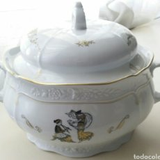 Vintage: SOPERA PORCELANA SANTA CLARA. Lote 147176653