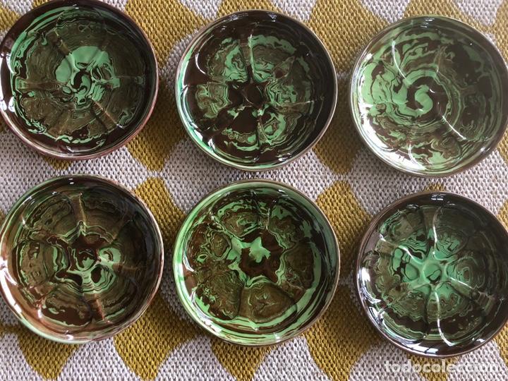 Plato para 6 ostras de porcelana