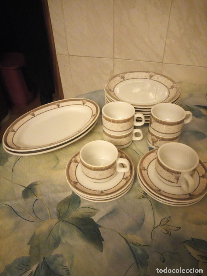 VAJILLA DE PORCELANA INKER CROATIA. (Vintage - Decoración - Porcelanas y Cerámicas)