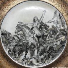 Vintage: MAGNIFICO PLATO DE 30,5 CM. FIRMADO FERRADAS, SELLADO. Lote 147574461