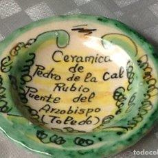 Vintage: LOTE DE 11 PIEZAS DE PUENTE DEL ARZOBISPO (TOLEDO). Lote 147790302