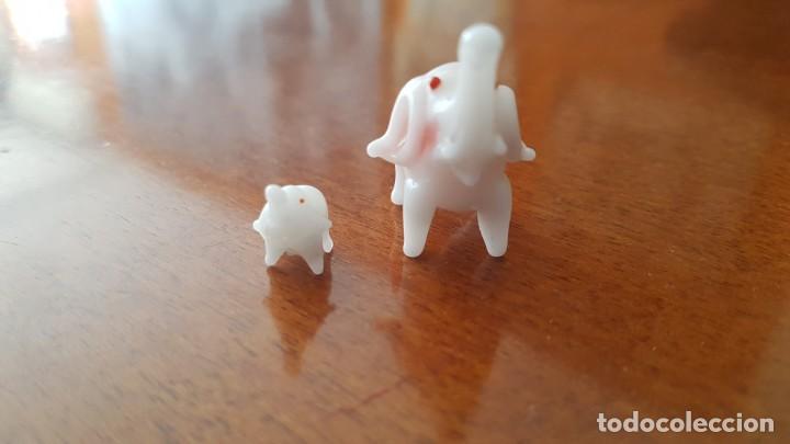 Vintage: Familia miniatura cristal murano - Foto 2 - 147854722