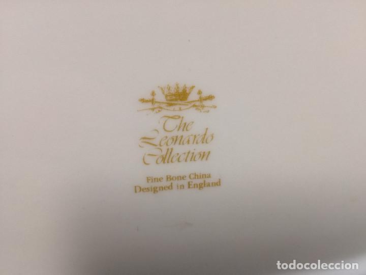 Vintage: MANTEQUILLERA DE PORCELANA - THE LEONARDO COLLECTION ENGLAND - MOTIVO MANZANO / MANZANA - Foto 8 - 148457834