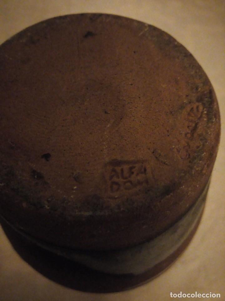 Vintage: Jarrón de cerámica ,sellado. - Foto 5 - 148497874