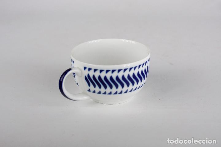 Vintage: taza c-7 Sargadelos porcelana Galicia - Foto 2 - 149793722
