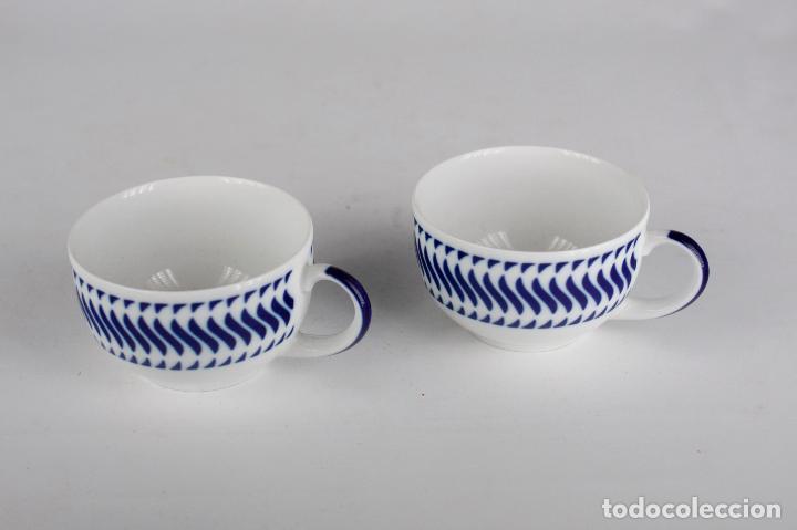 Vintage: taza c-7 Sargadelos porcelana Galicia - Foto 4 - 149793722