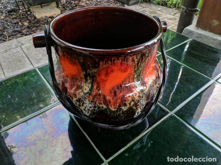 Vintage: Olla cerámica Vallauris (Francia) - Foto 2 - 150491750