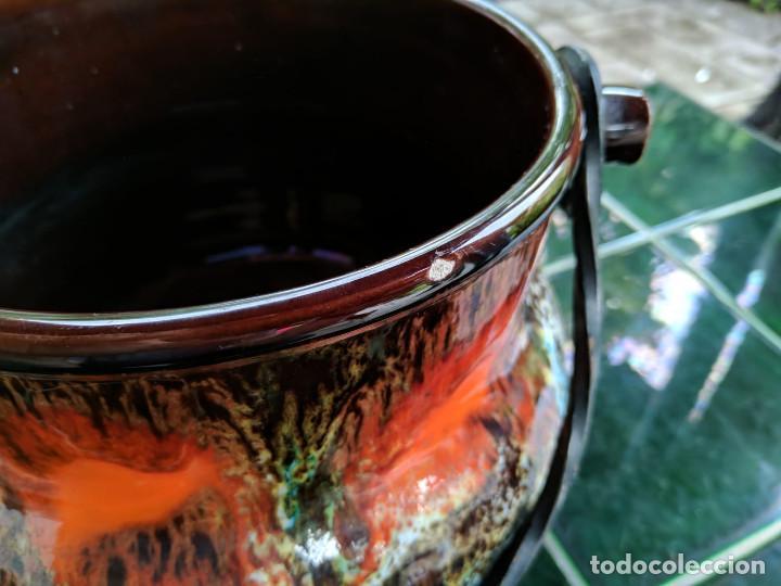 Vintage: Olla cerámica Vallauris (Francia) - Foto 3 - 150491750