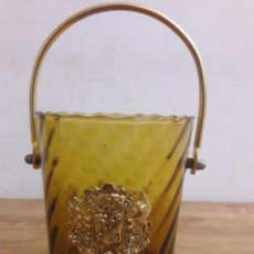 Vintage: JARRON DE CRISTAL. Lote 151410096