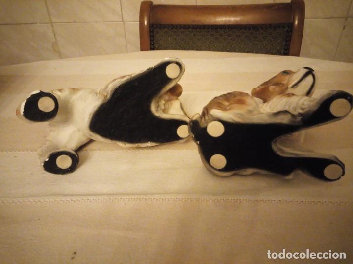 Vintage: Preciosa pareja de perros de cerámica,años 80 - Foto 10 - 152153614