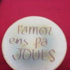 Vintage: PLATO DECORATIVO PARA COLGAR.. Lote 152904249