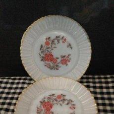 Vintage: 2 PLATOS DEPOSTRE EN OPALINA BLANCA AÑOS 60 TERMOCRISA- MEXICO-. Lote 153142498