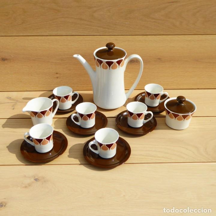 Vintage: Juego de café de Royal China Vigo, 70s - Foto 3 - 153575978
