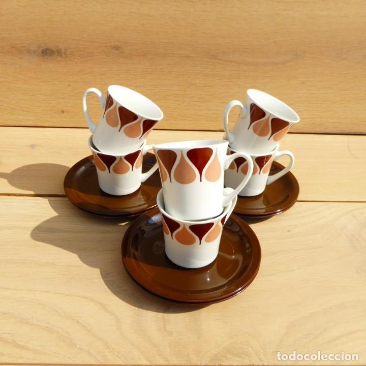 Vintage: Juego de café de Royal China Vigo, 70s - Foto 7 - 153575978