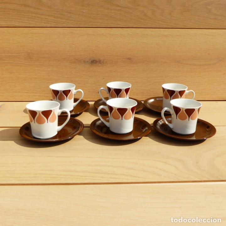 Vintage: Juego de café de Royal China Vigo, 70s - Foto 8 - 153575978