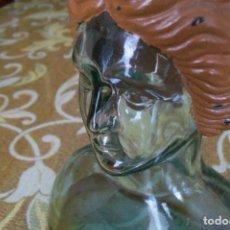 Vintage: ESCULTURA DIOSA TANIT EN VIDRIO AÑOS 50. Lote 153656894