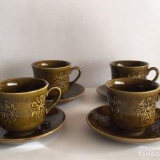 Vintage: JUEGO CAFÉ PONTESA MODELO ESCOCIA. AÑOS 60/70. Lote 153665564